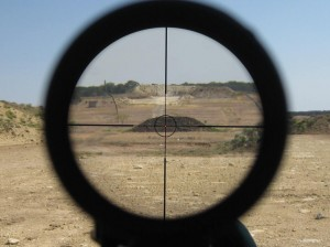 Leupold Patrol reticle picture at 500 yards