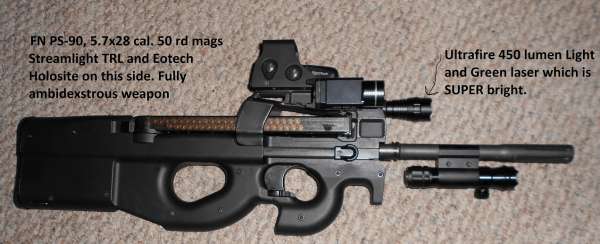 FN PS-90 5.7×28 Review