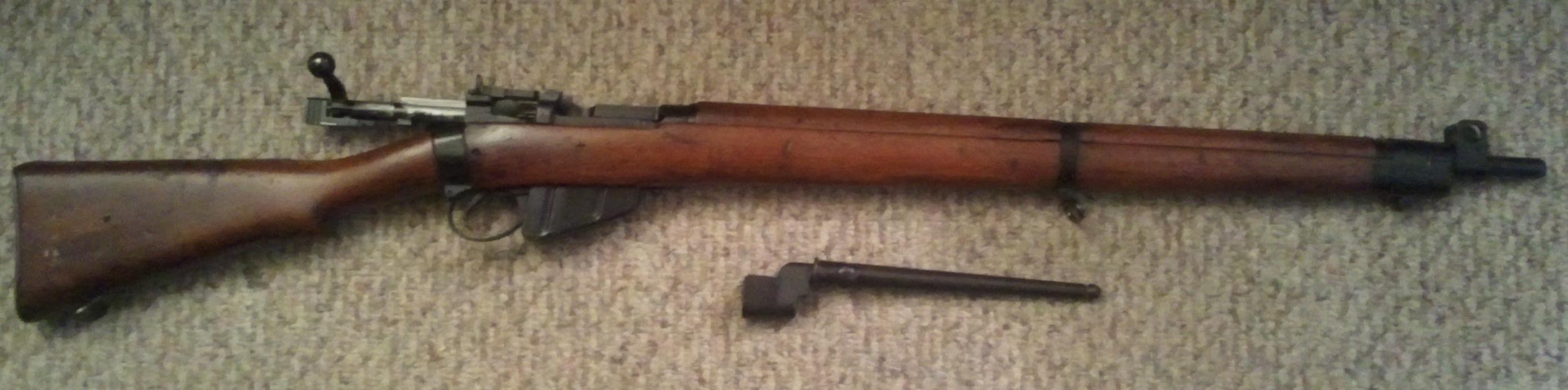 Surplus rifles Part 2 303 British Enfield