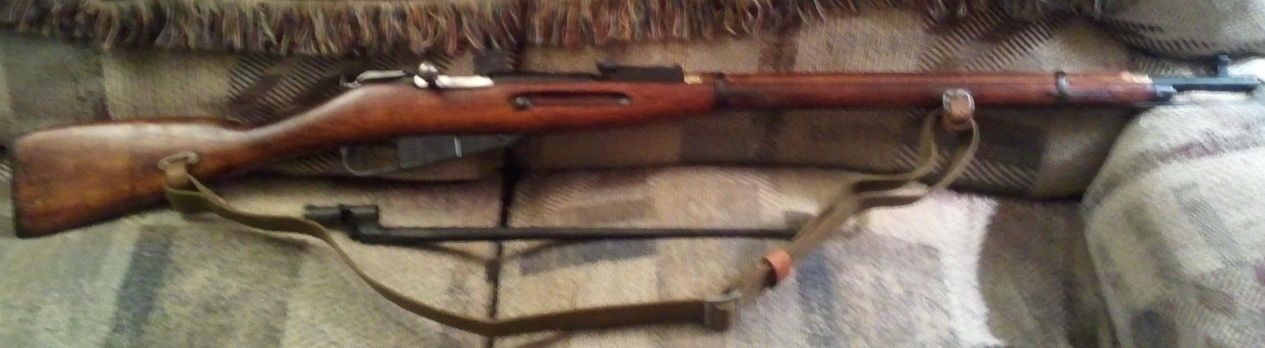 Surplus Rifles Part 1 Mosin Nagant m91