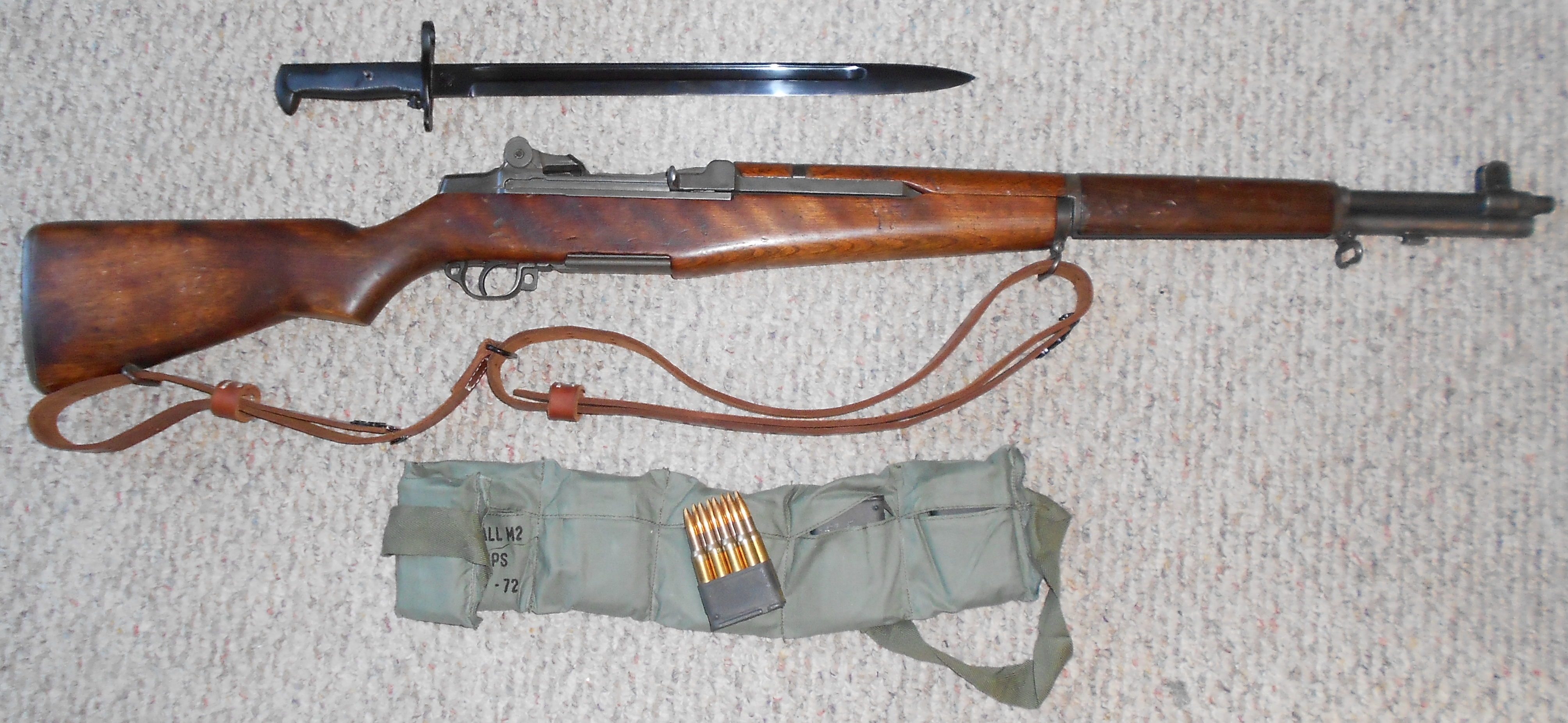 Gun Review Us Rifle Caliber 30 M1 M1 Garand Pictures to pin on ...