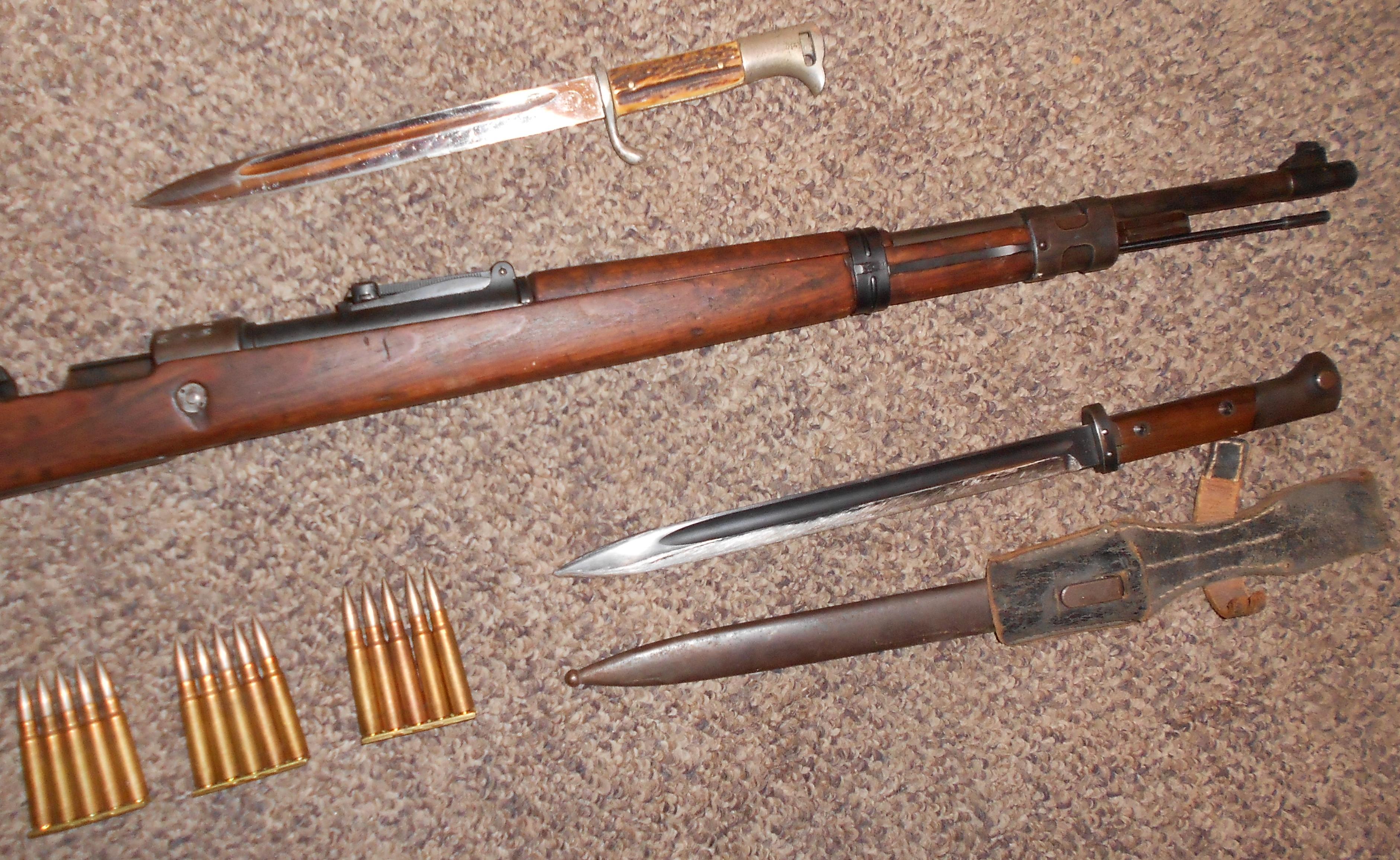 Surplus Rifles Pt4 K98 German Mauser Review