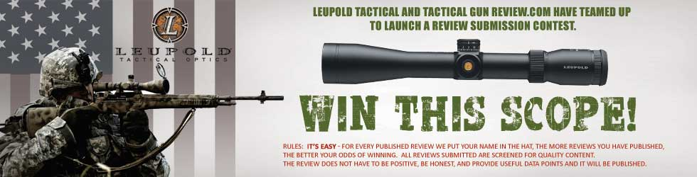 Cary Kieffer wins TGR Leupold Tactical Patrol 3-9 X 40 TMR!