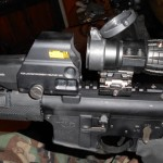 Eotech 557 and magnifier