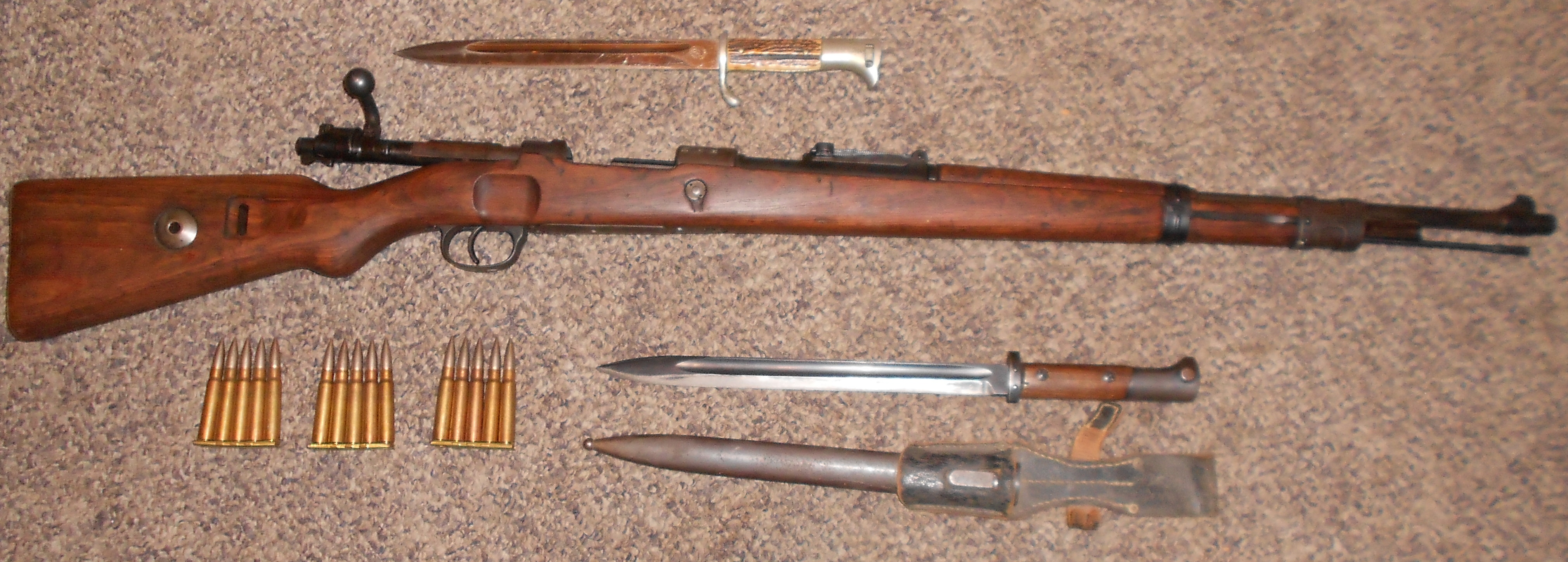 Surplus Rifles Pt4 K98 German Mauser Review