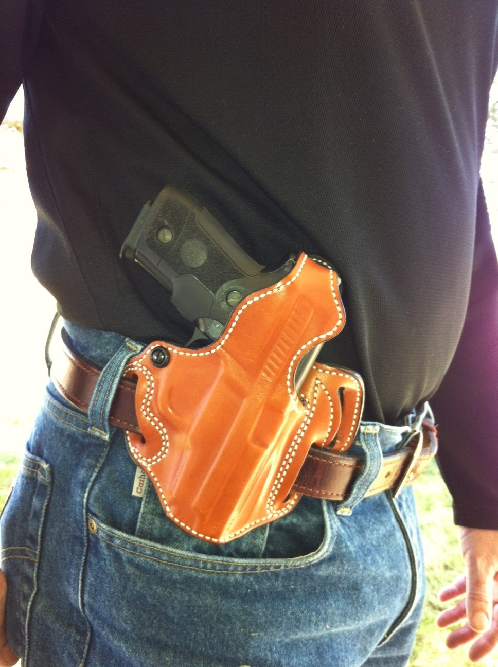 DeSantis Thumb Break Scabbard Holster Review