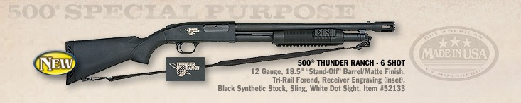 Mossberg Introduces 500 Thunder Ranch