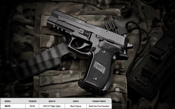 SIG SAUER® Makes New MK25 Pistol Available to the Public