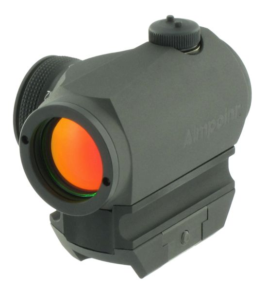Micro T-1 and H-1 sights now available with 2 MOA dot