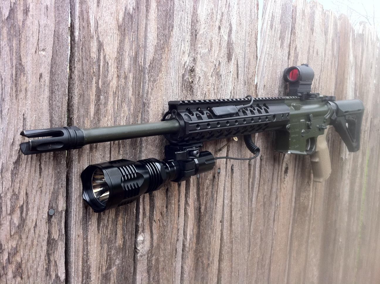 selph arms vrl 1 green led hunting light review gun reviews. Black Bedroom Furniture Sets. Home Design Ideas