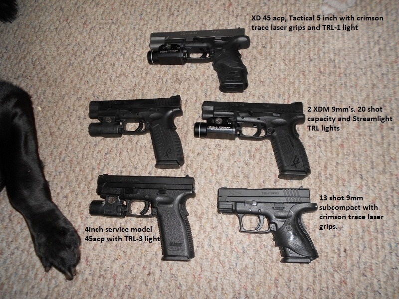Springfield XD and XDM Review