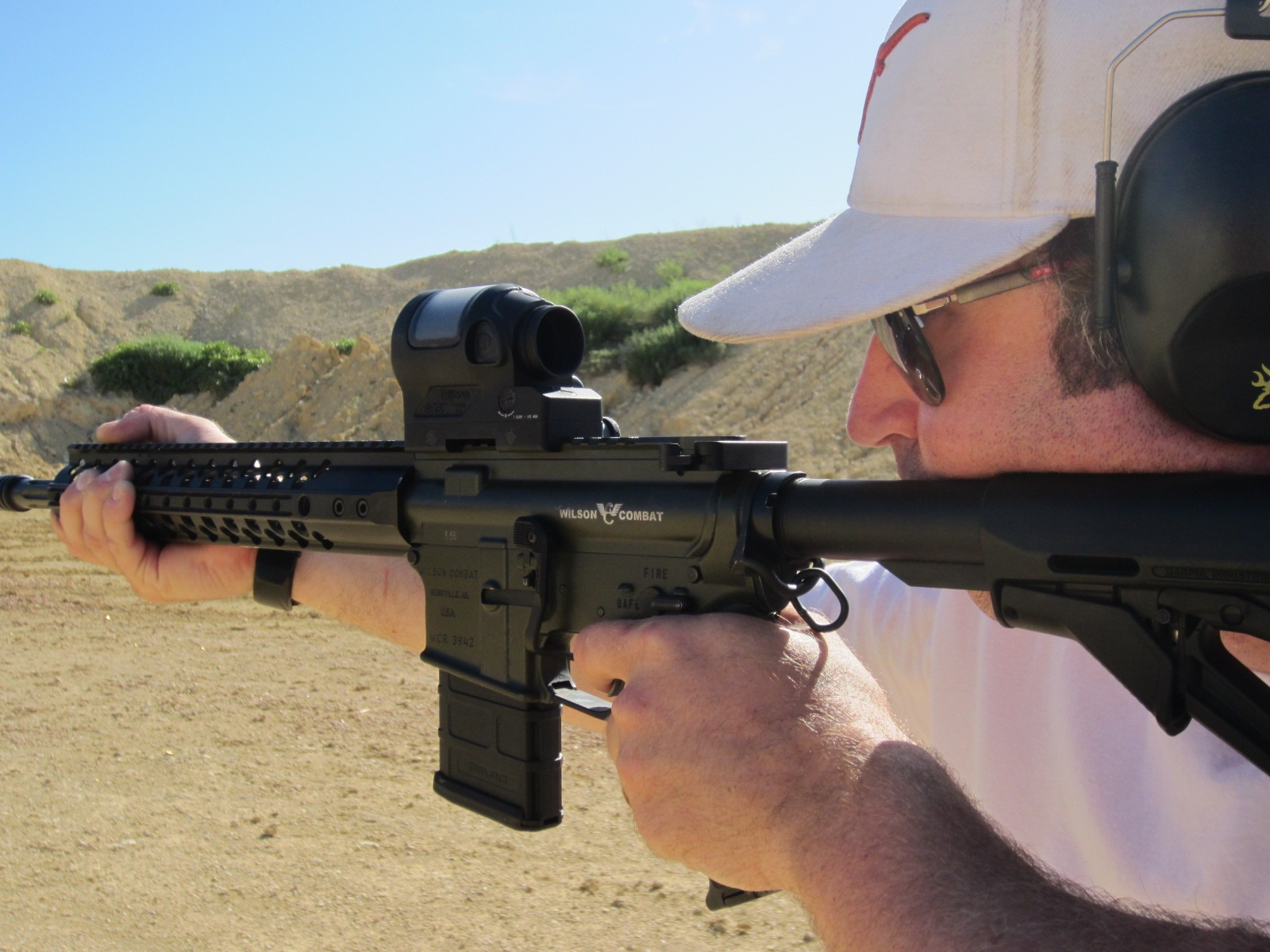 Staff Optic Review: Trijicon SRS Review