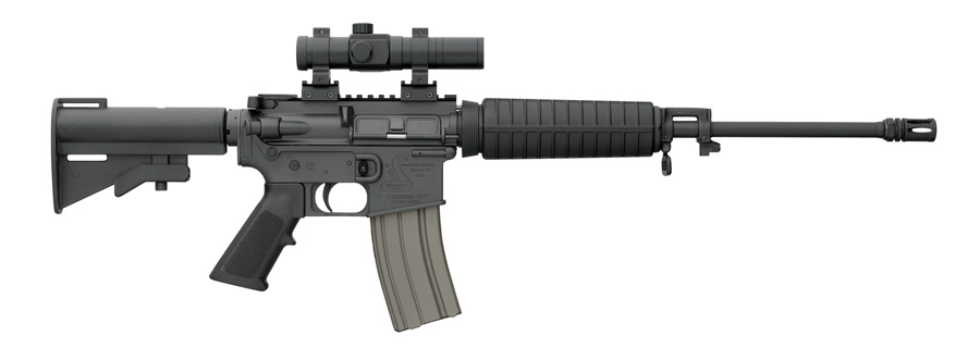 Bushmaster Carbon 15 for Home Defense