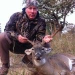 Mike with 8pt management buck Oct 2012