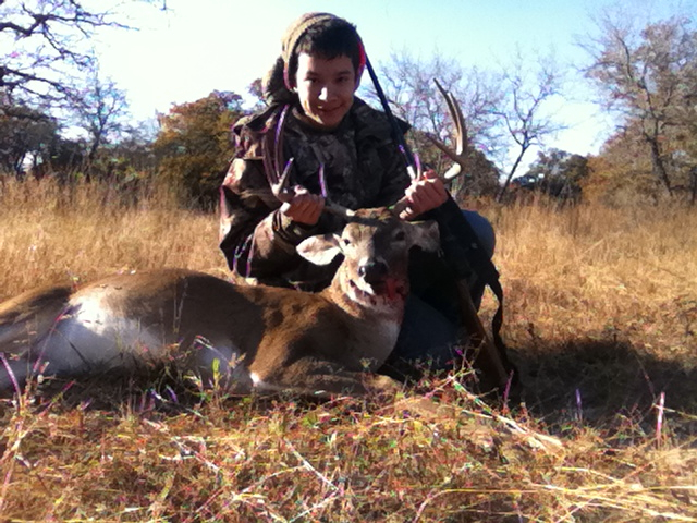 Sean with buck Nov 25 2012