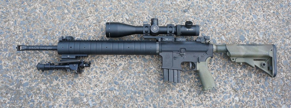 Vortex PST on my 20 inch AR-15 rifle