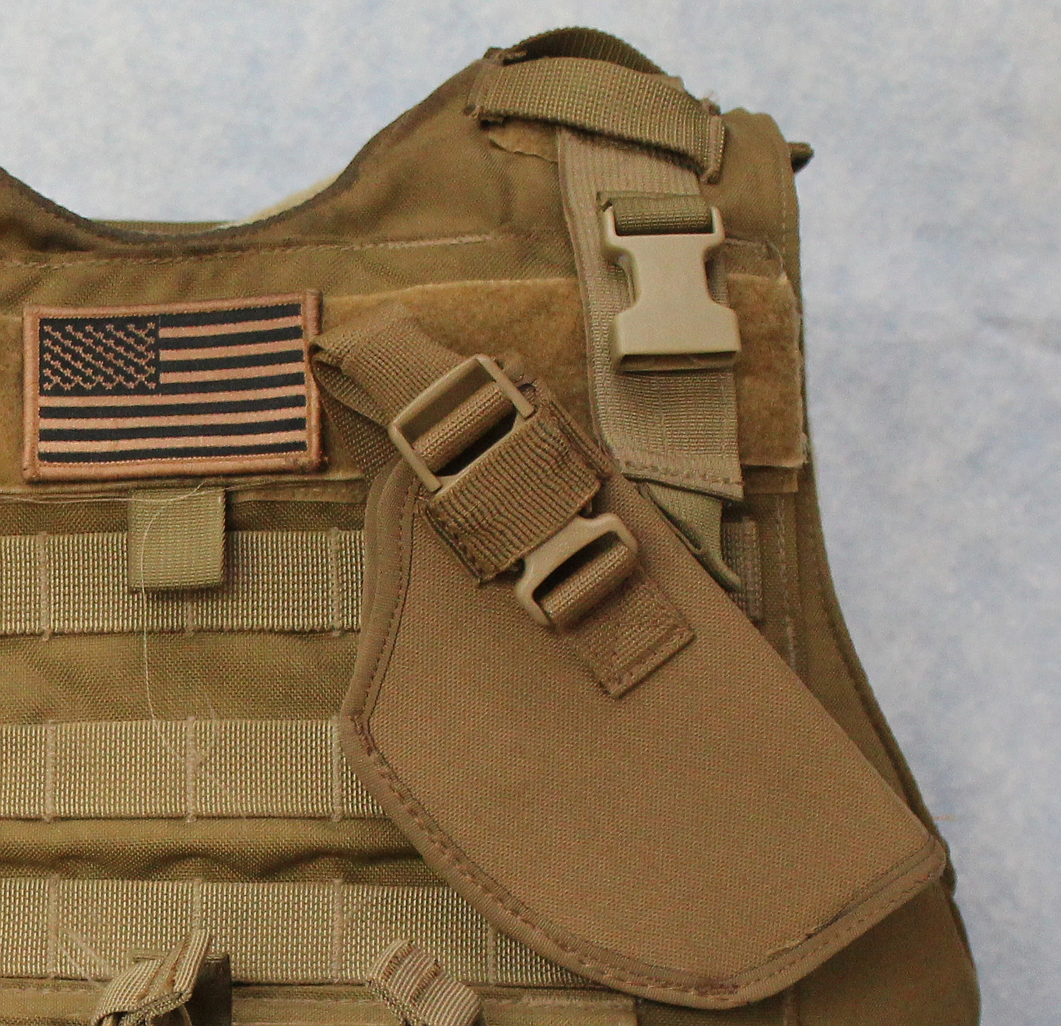 Raine Canted MOLLE Tactical Holster