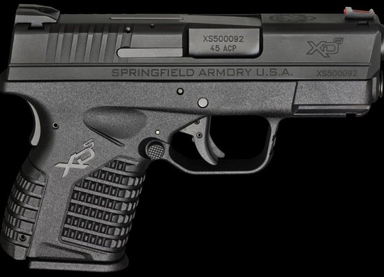 Staff Gun Review: Springfield XDS 45 ACP
