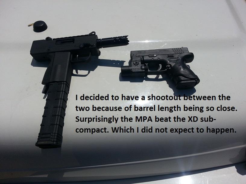 MasterPiece Arms Mini Pistol in 9mm  MPA930SST MPA 9mm   Gun