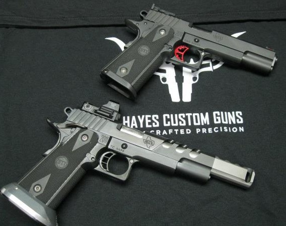 Hayes Custom Guns pistols