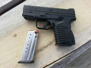 XDS 9mm left side