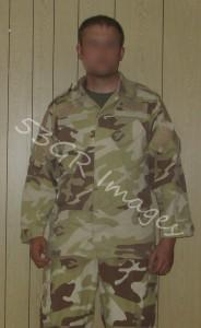 Iraqi Special Forces uniform, Lithuanian design.