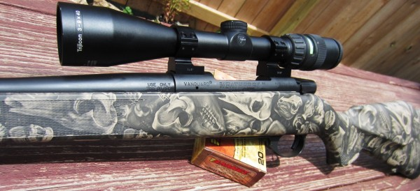 Weatherby Hog Reaper 7mm08 with Trijicon 3-9x40 Mildot / Greendot