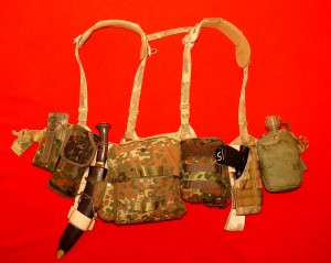 With a MOLLE extender, the holster rides lower on the hip, allowing for a very comfortable draw.