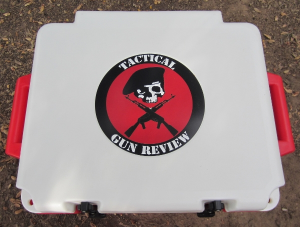 Grizzly 60 Cooler TGR logo