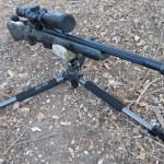 PRS Rifle Tripod setup low for prone use