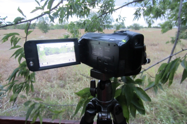 PRS Rifle Tripod with Camcorder
