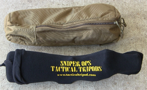 Sniper Ops tripod in case with Meopta S82
