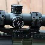 Nightfore 2.5-10x42 in Alamo Four Star DLOC mount