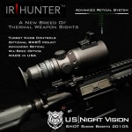 TGR to review US Nightvision IR Hunter thermal weapon sight.