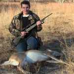Sean shoots a nice Doe with the Weatherby Hog Reaper 7mm08