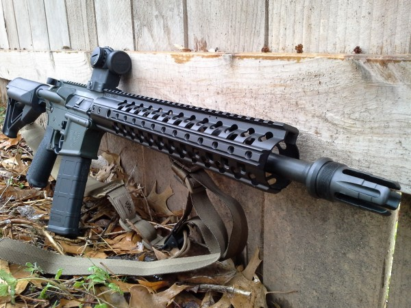 Ballistic Advantage 14.5 & Templar Tactical flash hider