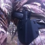 Comp-Tac Flatline holster with 1911 out on the hunt
