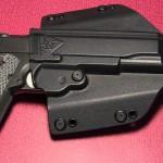 Comp-Tac Flatline holster in OWB configurations