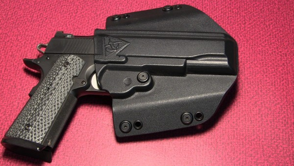Comp-Tac Flatline holster in OWB configurations