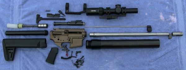 3 gun build parts