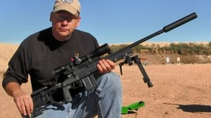 KGR Whiskey 3 chassis Remington 700 308 and Templar Tactical Archangel
