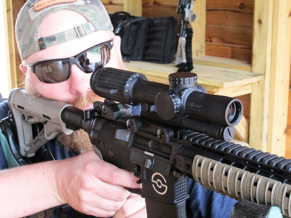 Mark with Trijicon VCOG