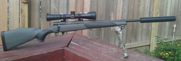 Weatherby Vanguard II 308 suppressor ready