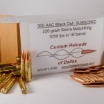 Dallas Reloads 300 blackout subsonic