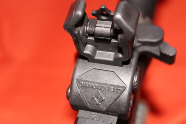 Diamondhead USA Polymer AR-15 sights