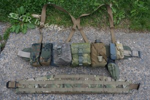 HSGI SureGrip belt and S.O. Tech Viper belt