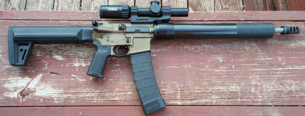 3 Gun Rifle with JEC Custom Quck-Brake