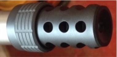 JEC muzzle brake