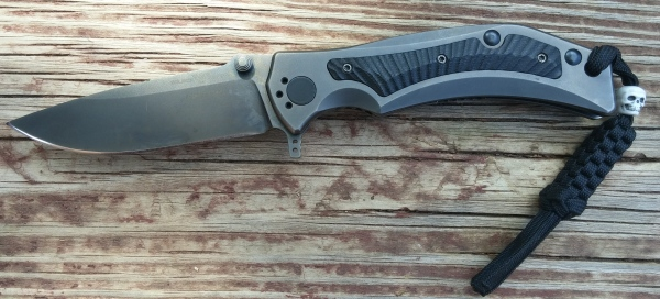 Wilson Combat Rapid Response XL, ELMAX knife review