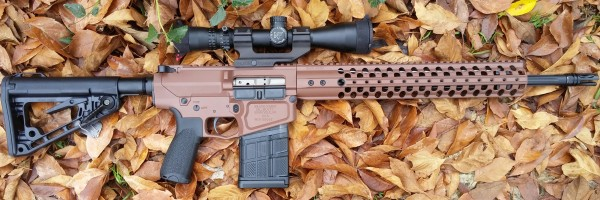 "Wilson Combat AR10 308 18"" Fluted Recon in Federal Brown"